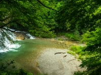 歓満の滝/福島県南会津町