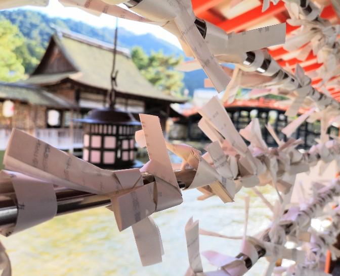 嚴島神社の風景
