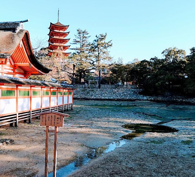 嚴島神社鏡が池