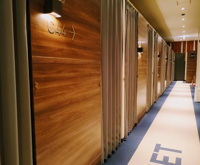 HOTEL THE GATE KUMAMOTO 館内廊下
