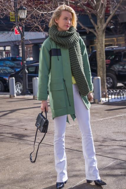 NYファッションウィークに見る、美人ファッション・ブロガーのストリート・スタイル