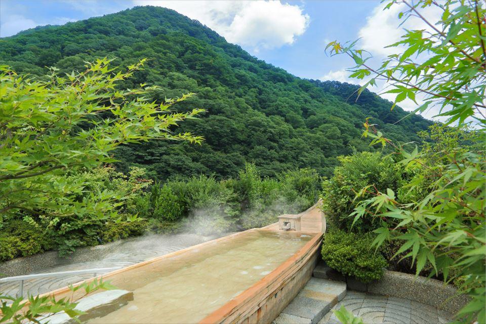 空中庭園露天風呂 昇龍の湯 舟風呂