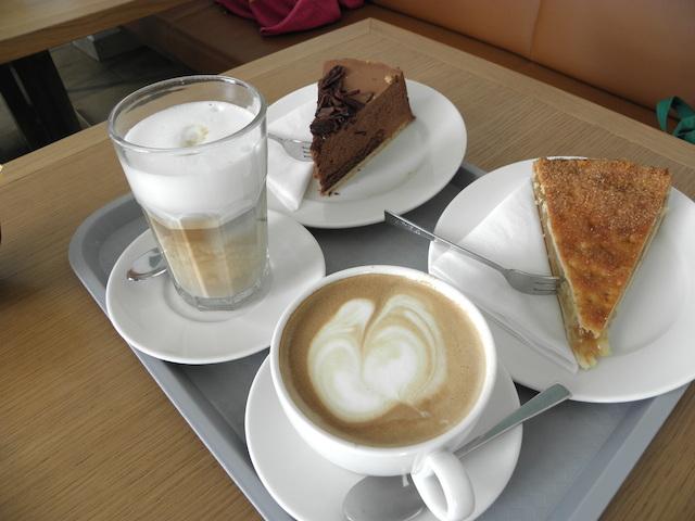カフェクレンツェのケーキ
