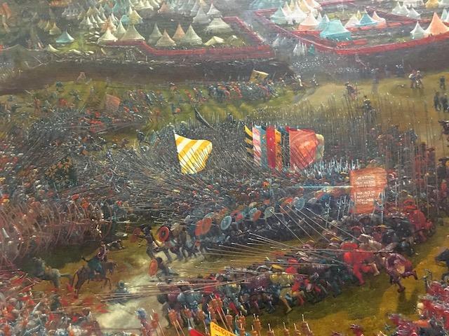 アレキサンダー大王の戦い ディテール