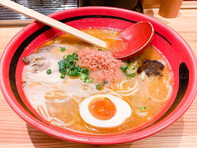 「ほどほど みそ 太麺」のラーメン(830円税込)