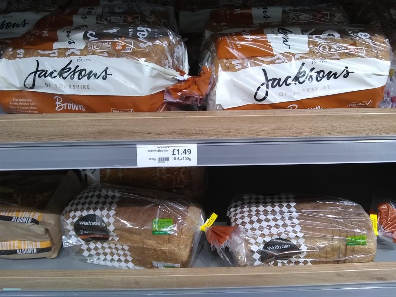 イギリスのトーストパン