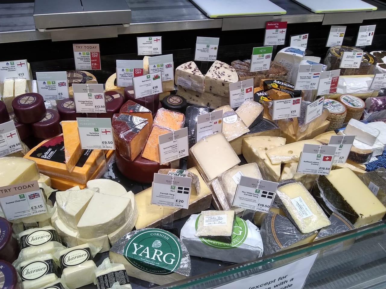 量り売りチーズ