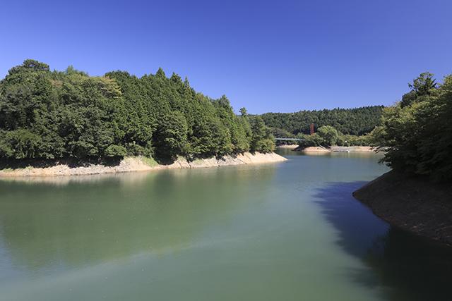 奈良県吉野山「津風呂湖」