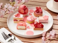Sakura Strawberry Cake Set