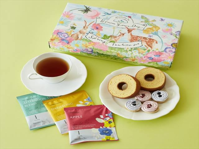 Afternoon Tea スプリングティータイムセット