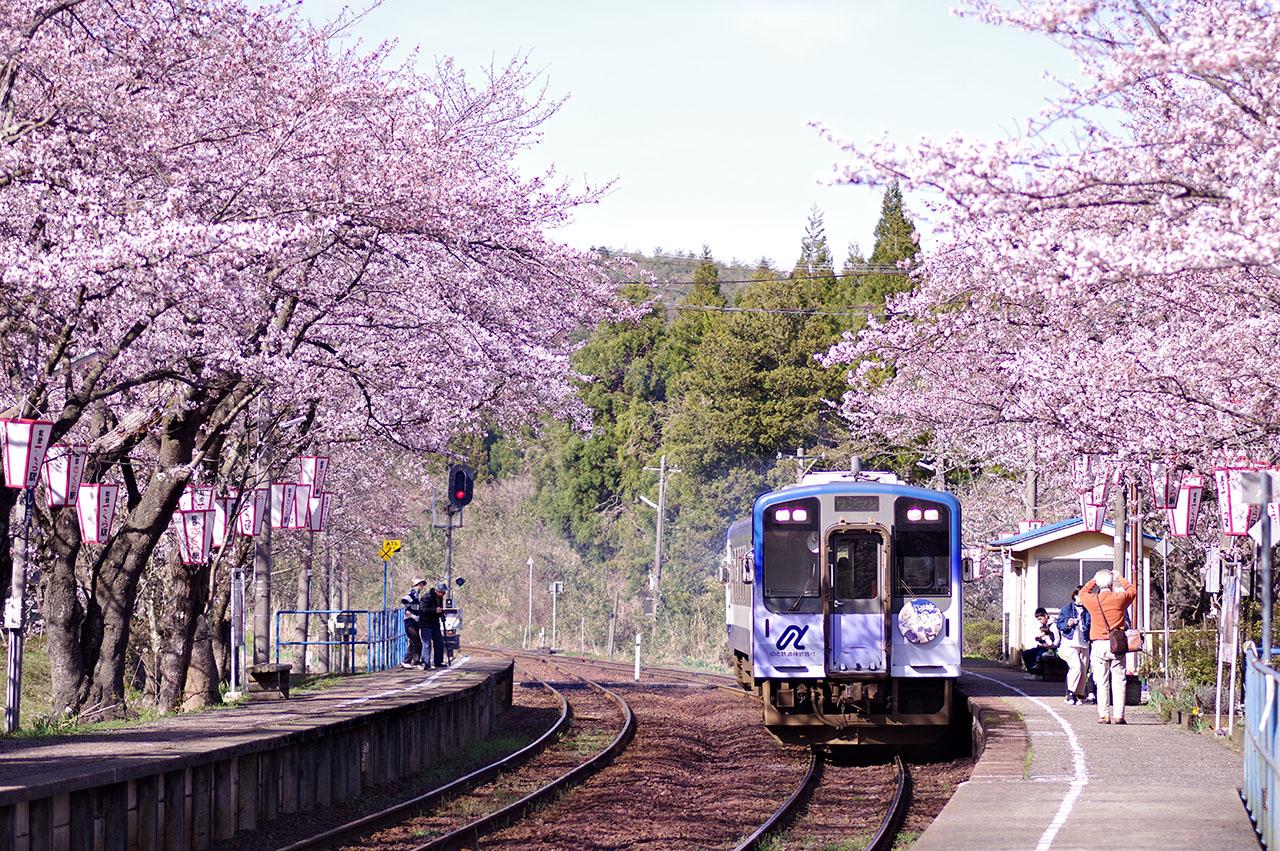 石川県「能登さくら駅(能登鹿島駅)」