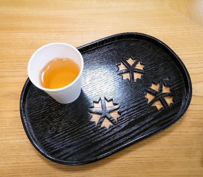 お茶のほんぢ園 試飲のお茶