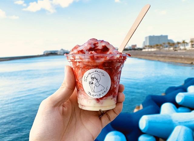 沖縄発!果物を丸ごと味わえるかき氷「果物けずり」が富士山の麓にオープン!