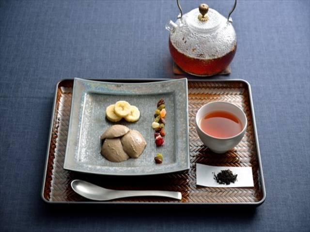 感豆腐 大豆のプリン 和紅茶1