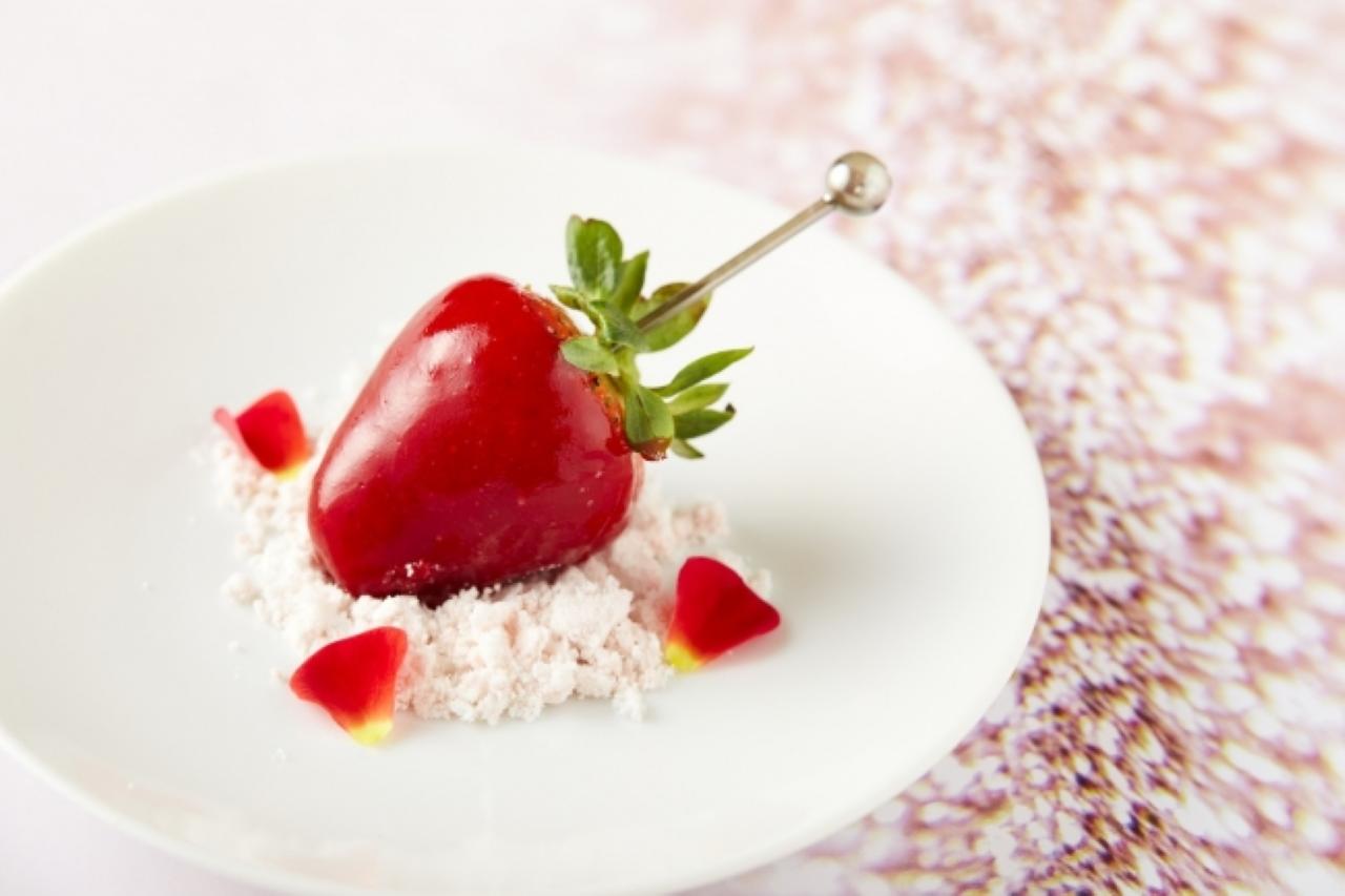 苺づくしのアフタヌーンティーセット前菜