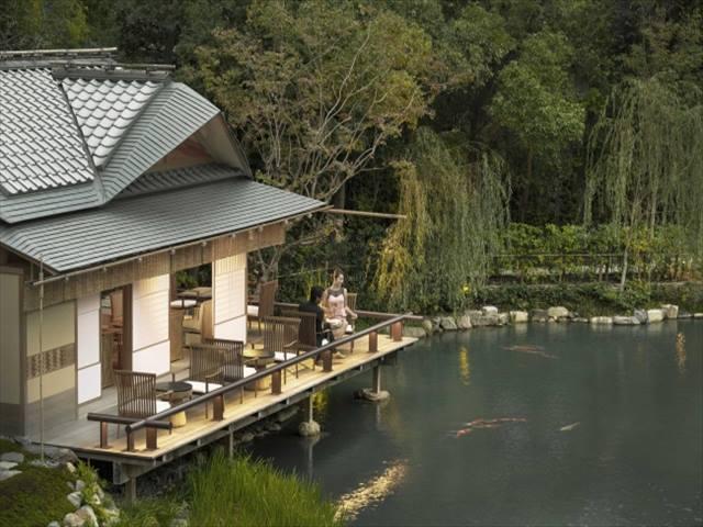 フォーシーズンズホテル京都 積翠園(しゃくすいえん)1