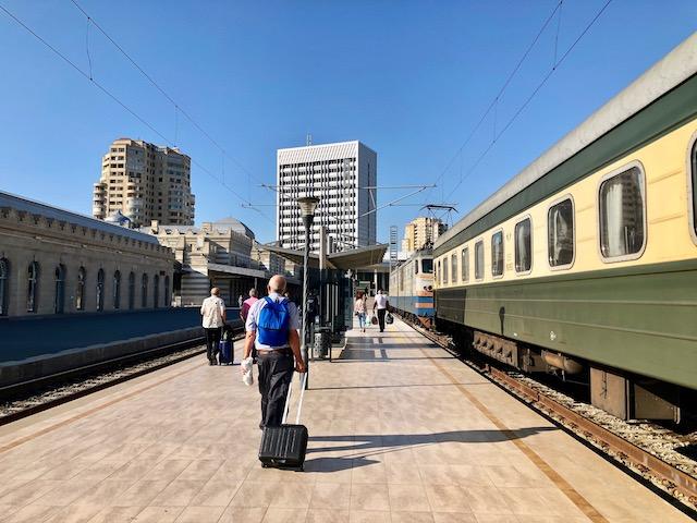 アゼルバイジャン・バクー駅