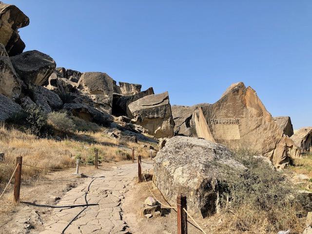 アゼルバイジャン・ゴブスタン国立公園