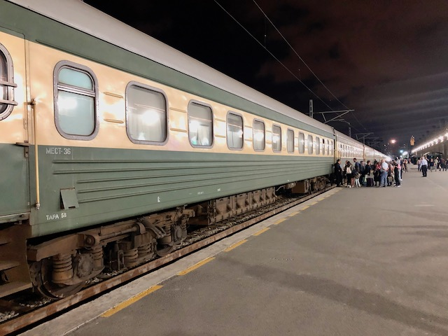 アゼルバイジャンのバクー駅
