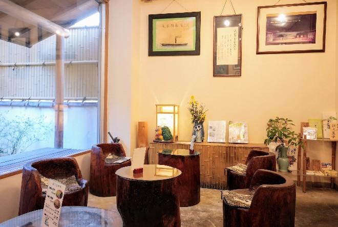 三井寺力餅本家 喫茶コーナー
