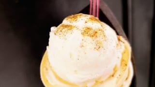 MILKISSIMO名古屋パルコ店 北海道チーズティークレープ(ほうじ茶パウダー)」