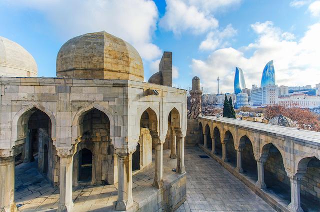 アゼルバイジャンの首都バクー・シルヴァンシャー宮殿