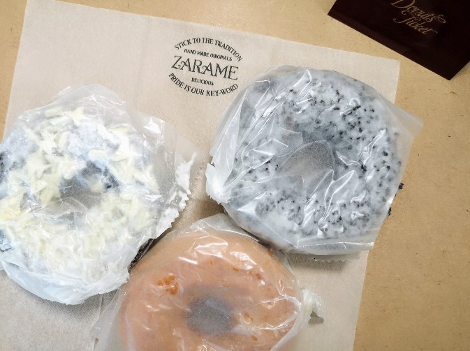 ZARAME STAND 松坂屋名古屋店 持ち帰りパッケージ