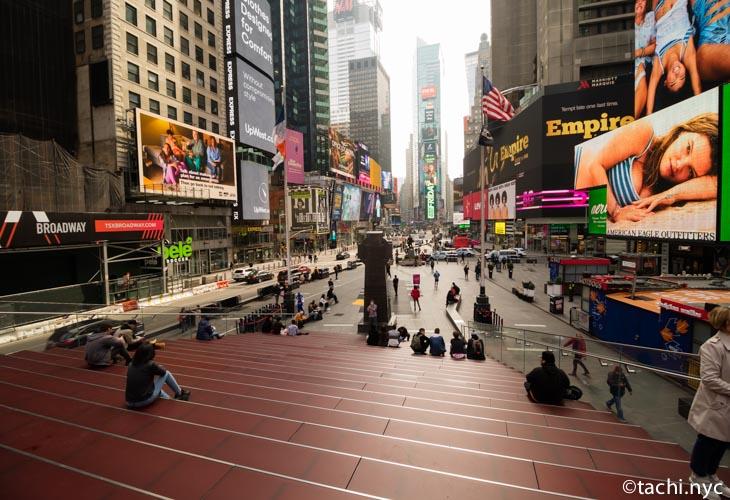 2020年3月20日 タイムズスクエア付近の様子