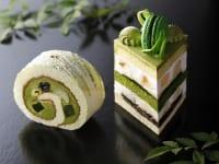 ホテルニューオータニ パティスリーSATSUKI 『新edo抹茶ショートケーキ』『新edo抹茶ロール』