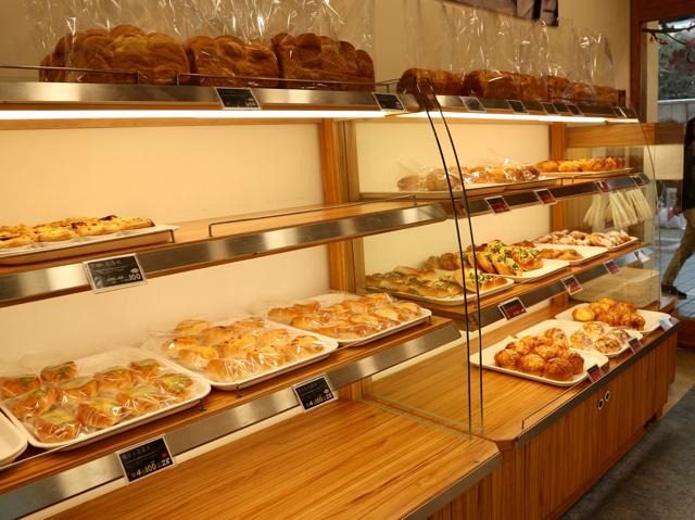 多種多様なパンがずらり