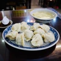エビ水餃子10粒と竹の子スープ