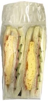 ハムと玉子焼きのサンドイッチ