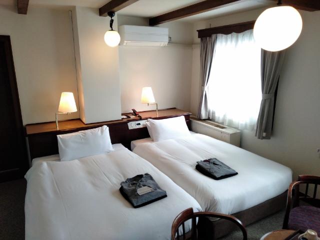 松本ホテル花月客室2