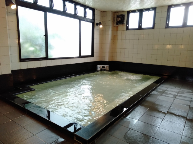 松本ホテル花月大浴場3