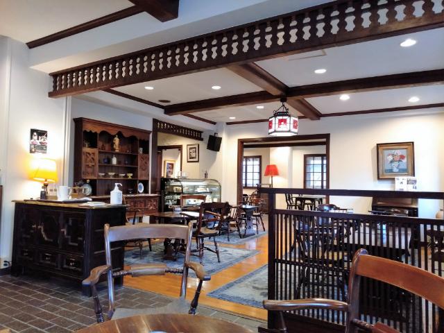 松本ホテル花月喫茶室