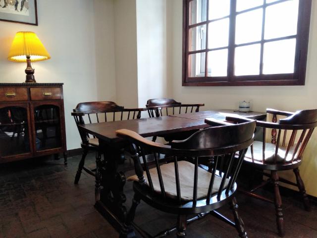 松本ホテル花月喫茶室4