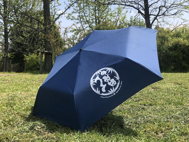 おでかけシャンシャンファミリー晴雨兼用折りたたみ傘