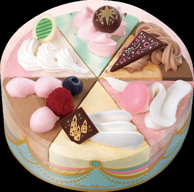 サーティワン アイスクリーム パレット6パーティー