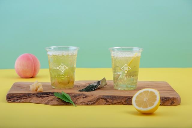 宇治茶フルーツソーダ