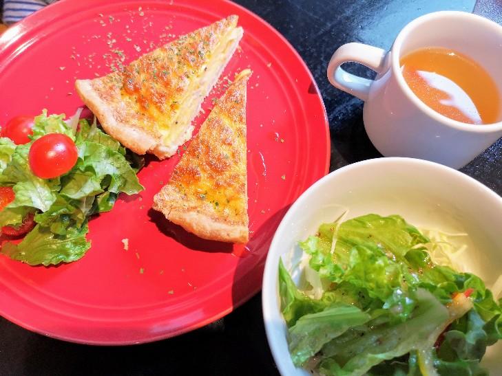 古民家Cafe cojica キッシュ