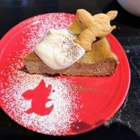 古民家Cafe cojica ほうじ茶チーズケーキ