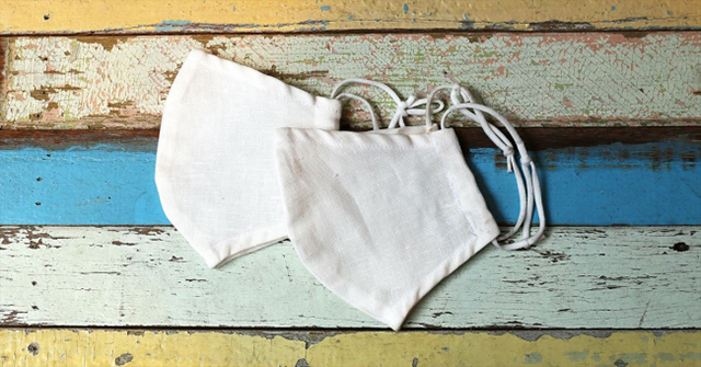 Silk kotton × linen Organic Mask(シルクコットンxリネンオーガニックマスク)