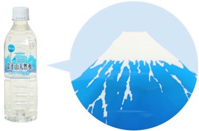 富士山透かしデザイン