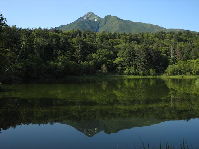 利尻島 姫沼