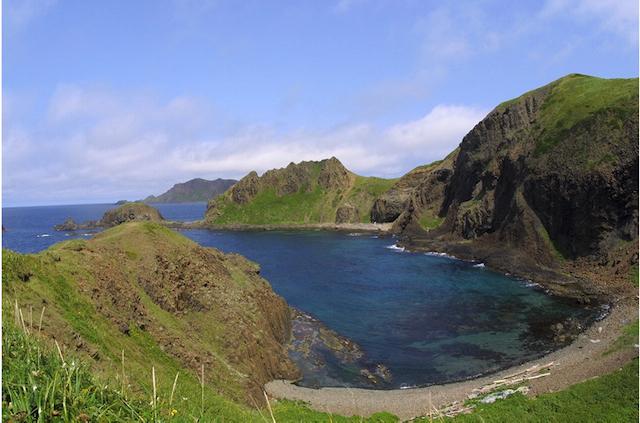礼文島 澄海岬