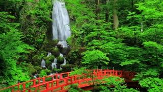 岩手県・不動の滝