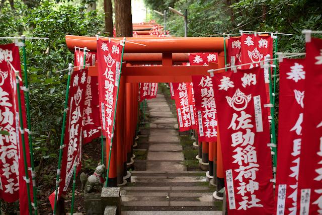 鎌倉・佐助稲荷神社