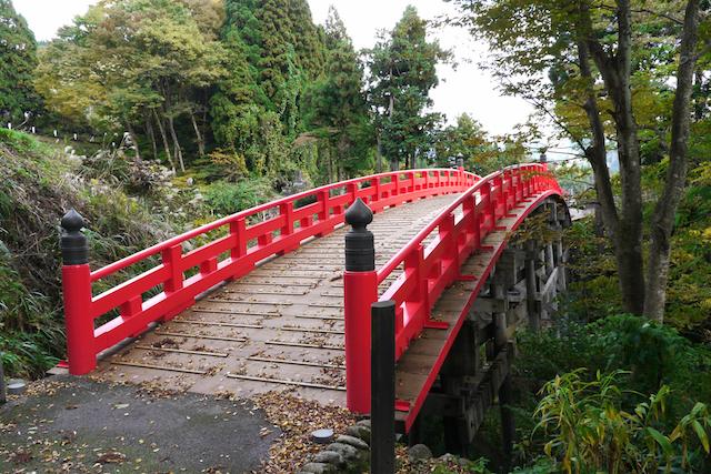芦峅寺 布橋