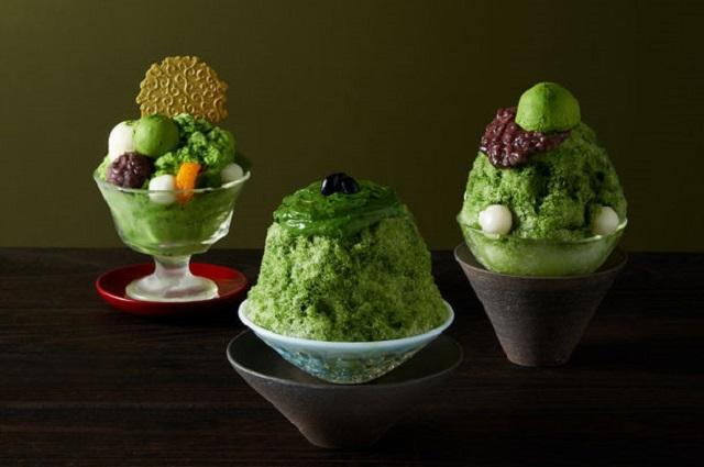 暑い夏にひんやりしたい!京都・伊藤久右衛門から4種の「宇治抹茶×かき氷」が登場