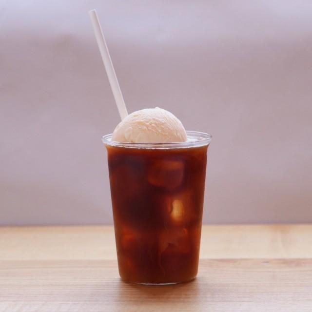 京終駅舎カフェハテノミドリ コーヒーフロート